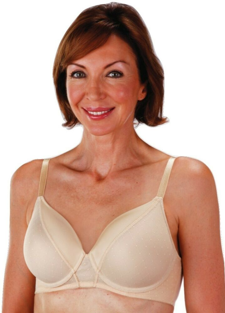 Classique 712 Flex Wire Foam Molded Cup Mastectomy Bra Ebay