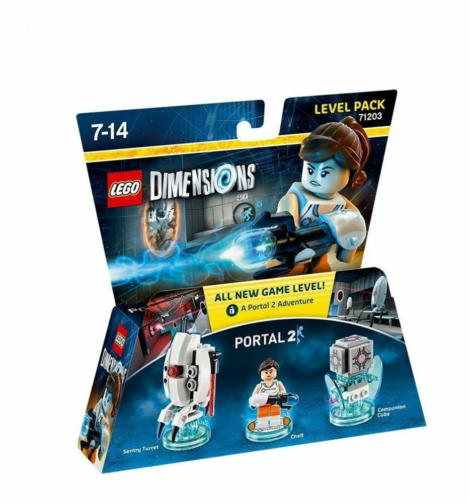 lego dimensions portal level pack portal 2 new ps4. Black Bedroom Furniture Sets. Home Design Ideas