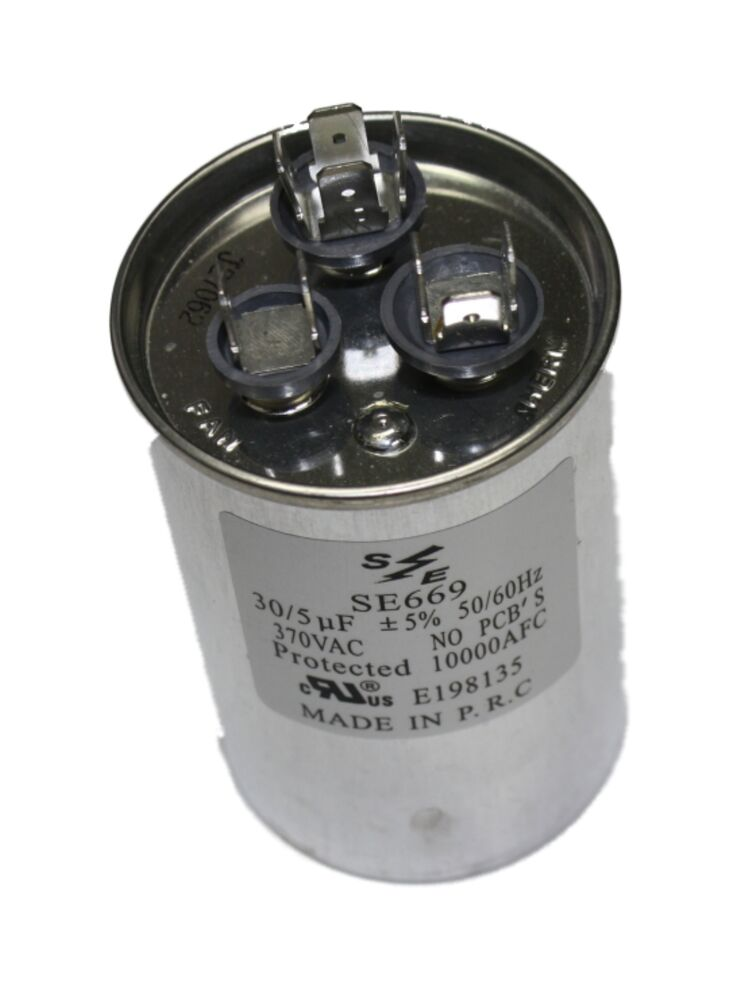 SMART ELECTRIC SE669 ROUND DUAL CAPACITOR 370VAC 35 5 MFD