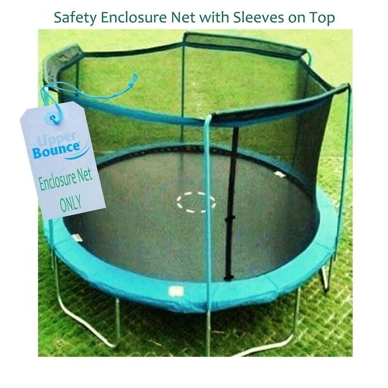 New 14ft Trampoline Combo Bounce Jump Safety Enclosure Net: Upper Bounce 14 Trampoline Enclosure Safety Net Fits For