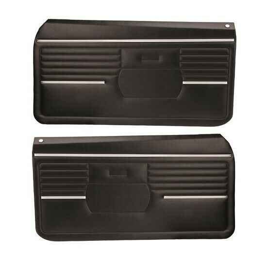 Pui Pd210 1968 Camaro Standard Front Door Panels Black