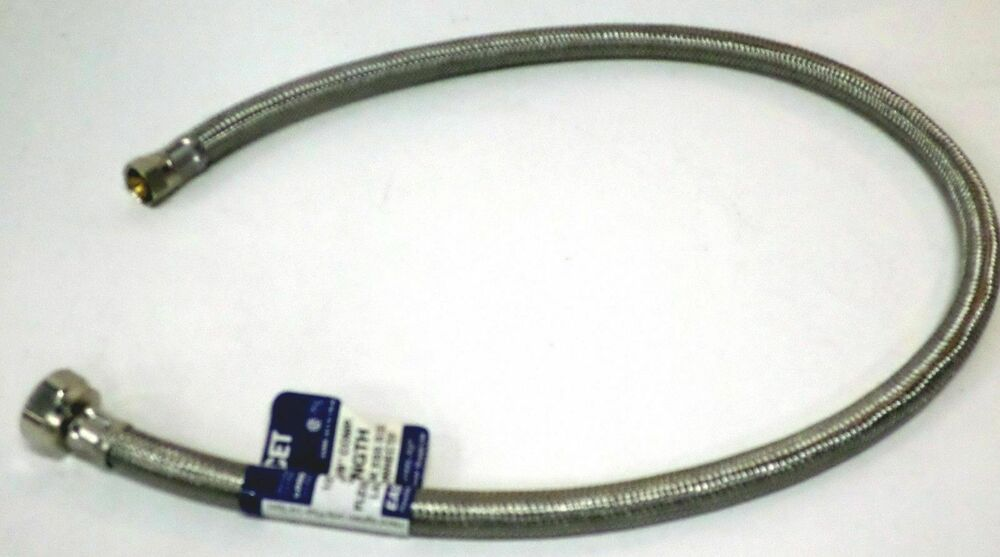 """48007 30"""" Faucet Sink Connector Water Supply Line 1/2 FIP"""