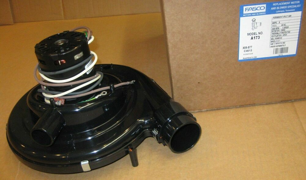 Fasco A173 Furnace Draft Inducer Motor For 1011350 7065