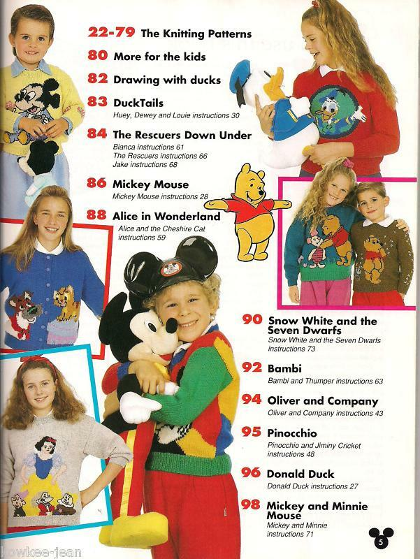 Knitting Patterns For Childrens Characters : Disney knit sweaters patterns kids, hand knitting, fun ...