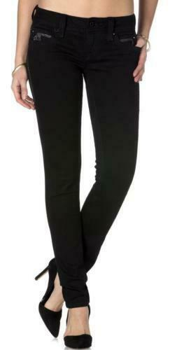 New Rock Revival Women S Premium Skinny Black Denim Jeans Woven Pants Noelle S54 Ebay