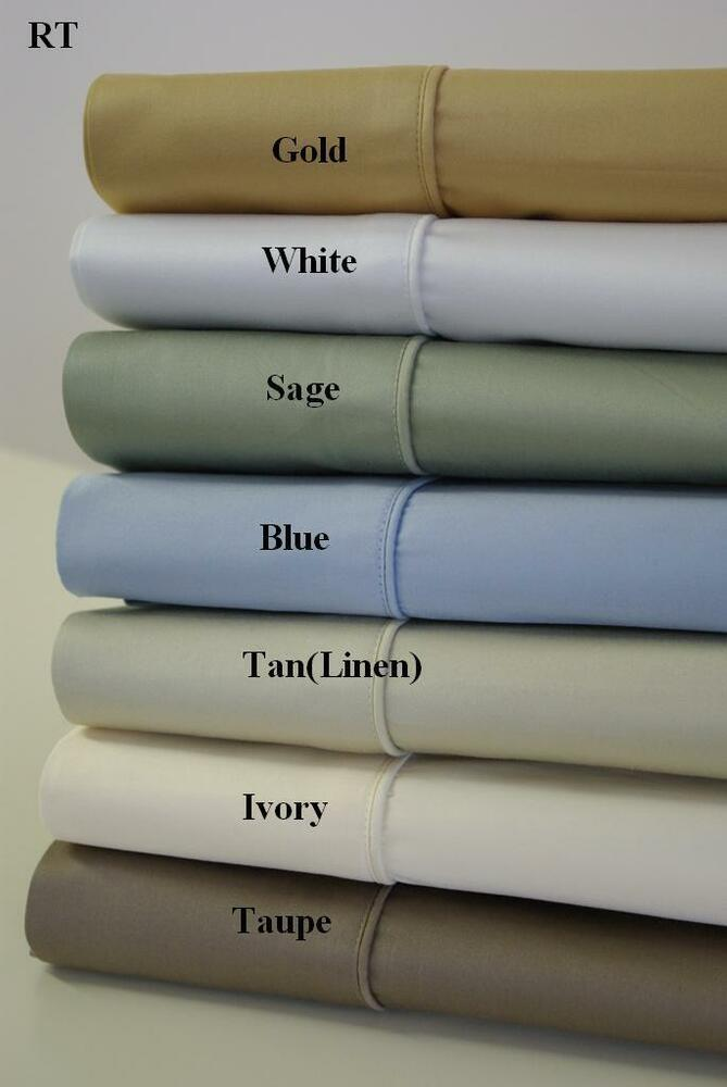 Luxury Best Modern Cotton Sheets 450 Thread Count Solid