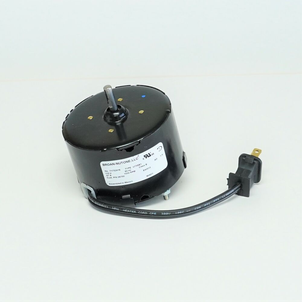 s 26750ser broan nutone bathroom fan vent motor oem