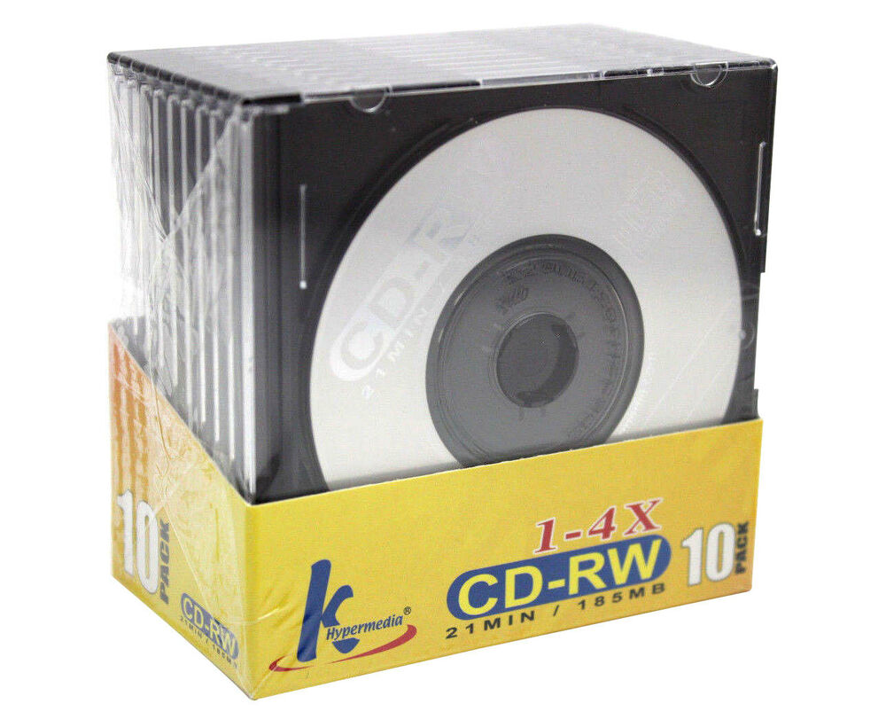 20x mini cd rw rewritable 21min 185mb 8cm cdr cd blank compact disc jewel case ebay. Black Bedroom Furniture Sets. Home Design Ideas