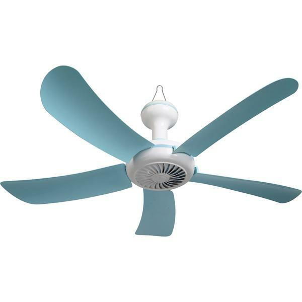 "110VAC 27"" PORTABLE 5 BLADE HANGING MINI CEILING FAN EASY"