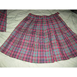 Royal Park Girls Size 12 1/2, Knife Pleat Skirt, Style 132, Color 58, NWT