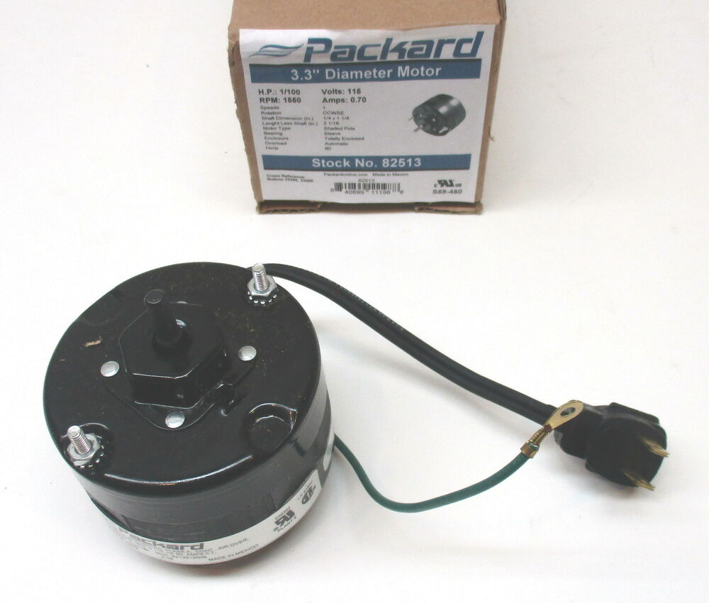 82513 For Nutone Bathroom Fan Vent Motor C23405 C23388