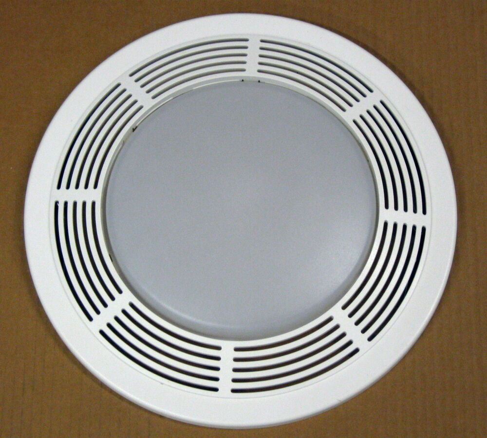 Bathroom Fan Cover Replacement Parts: S97017702 Broan Nutone Grille And Lens Assembly For 8663RP
