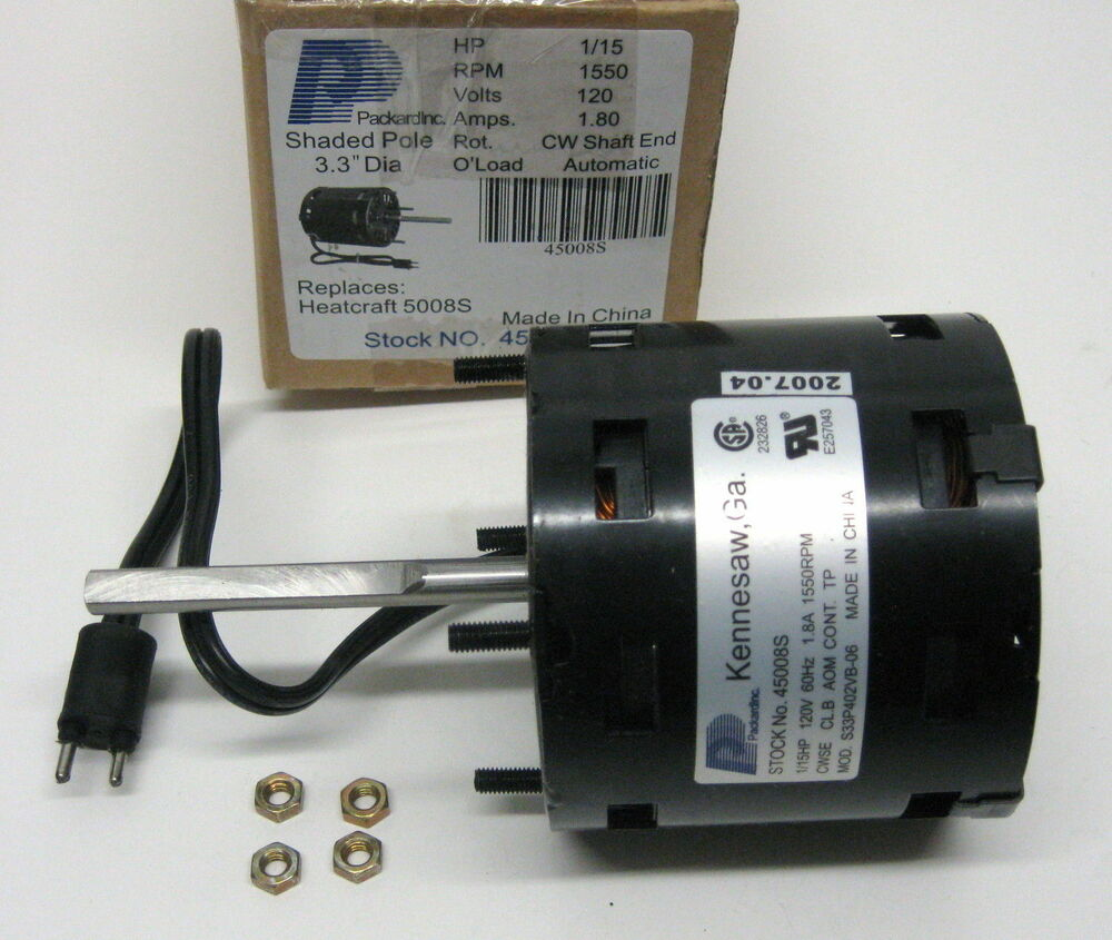 45008s Motor For Bohn Heatcraft Refrigeration Cooler 5008s