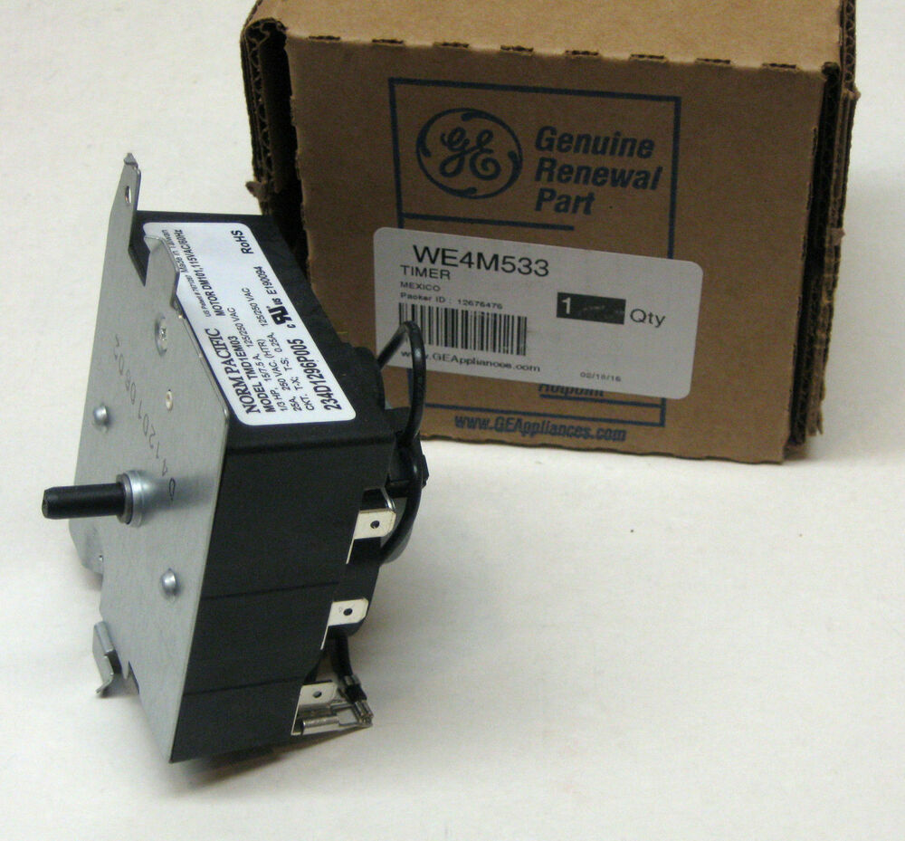We4m533 Ge General Electric Dryer Timer Control Oem