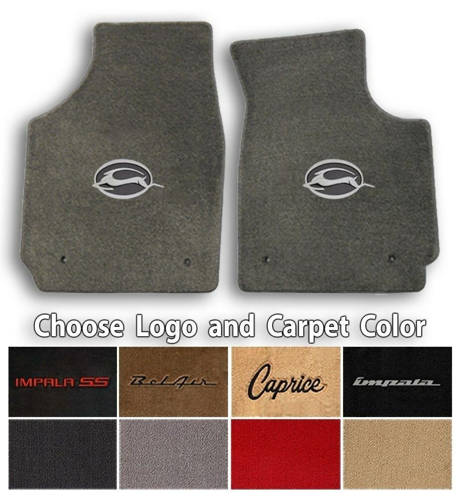 Impala/Caprice/Bel-Air 2pc Classic Loop Carpet Floor Mats ...