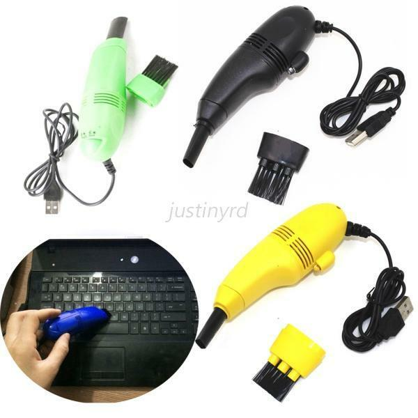 Computer Duster And Vacuum : Keyboard cleaning brush computer duster set portable mini