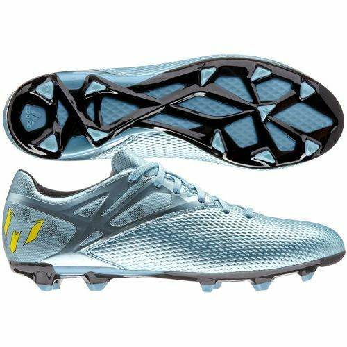 meet c3977 08fe0 Details about adidas F 15.3 TRX FG   AG Messi 2015 Soccer Shoes Metallic  Blue Brand New