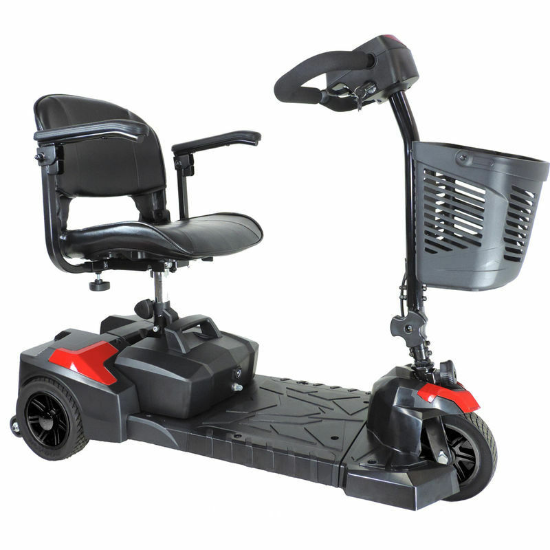 Drive medical spitfire scout 3 wheel travel power scooter for Mobility chair