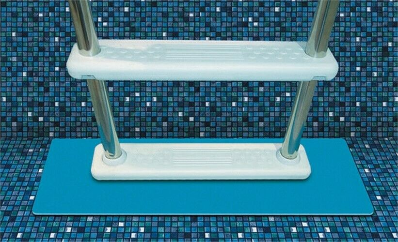 New Above Ground Swimming Pool Ladders Floor Pad Protection For Intex Pools Ebay