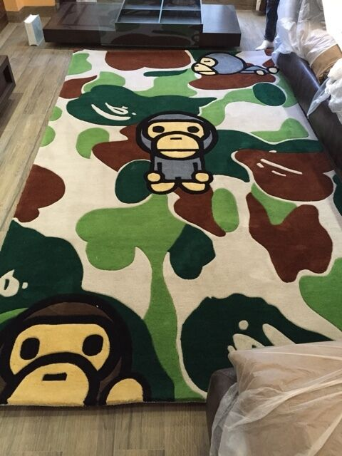 New Bathing Ape Bape Dog Pet Car Door Floor Mat Rug Carpet