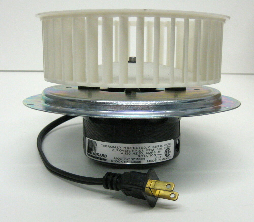 40695 Vent Bath Fan Motor Amp Blower Wheel For 0695b000