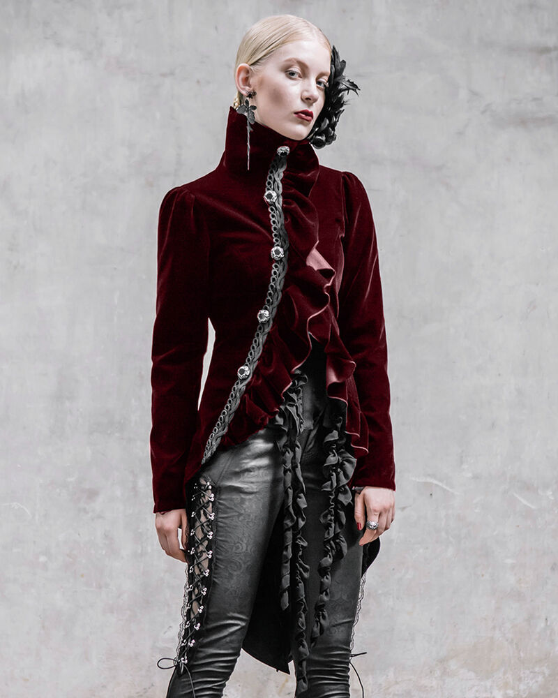 Womens steampunk jacket