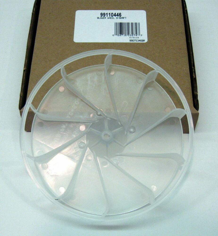Pvc Fans And Blowers : Broan nutone vent fan blower wheel plastic