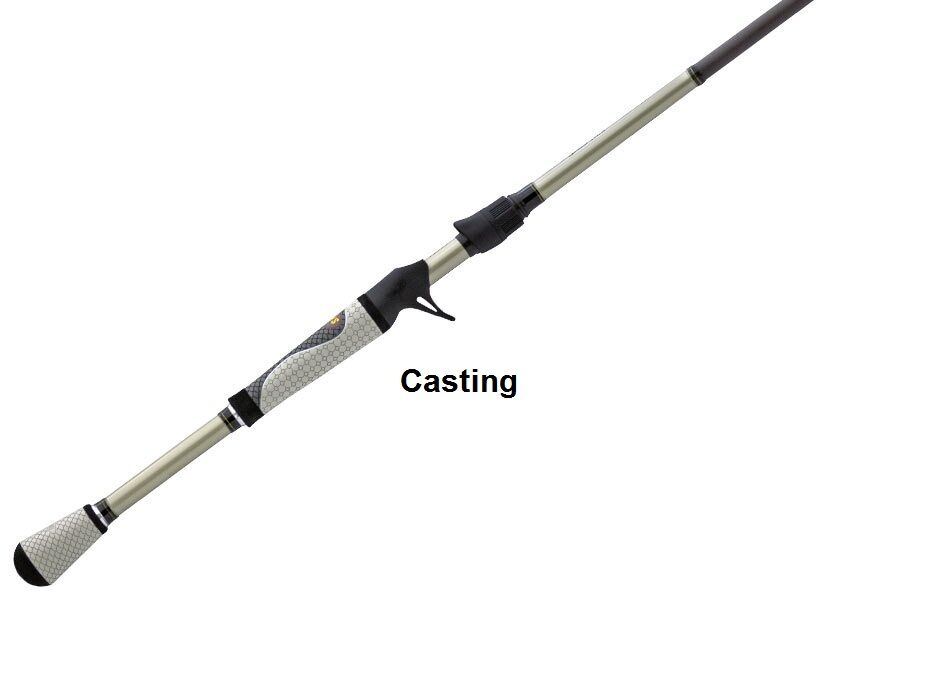Lew 39 s custom lite speed stick casting rod lclfrh 7 39 6 for Lews fishing rods