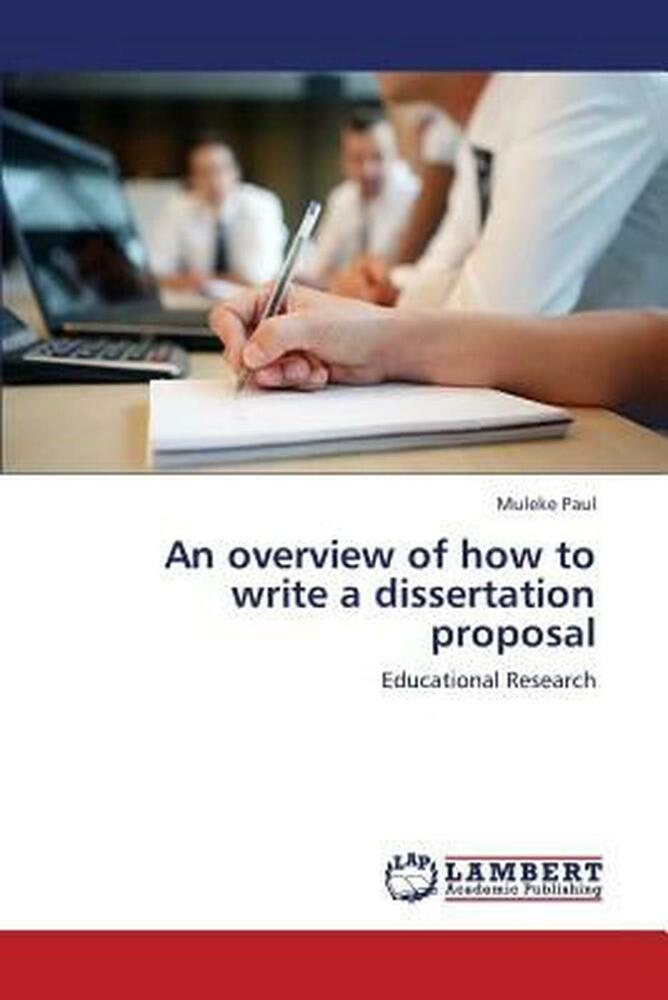 Overview dissertation proposal