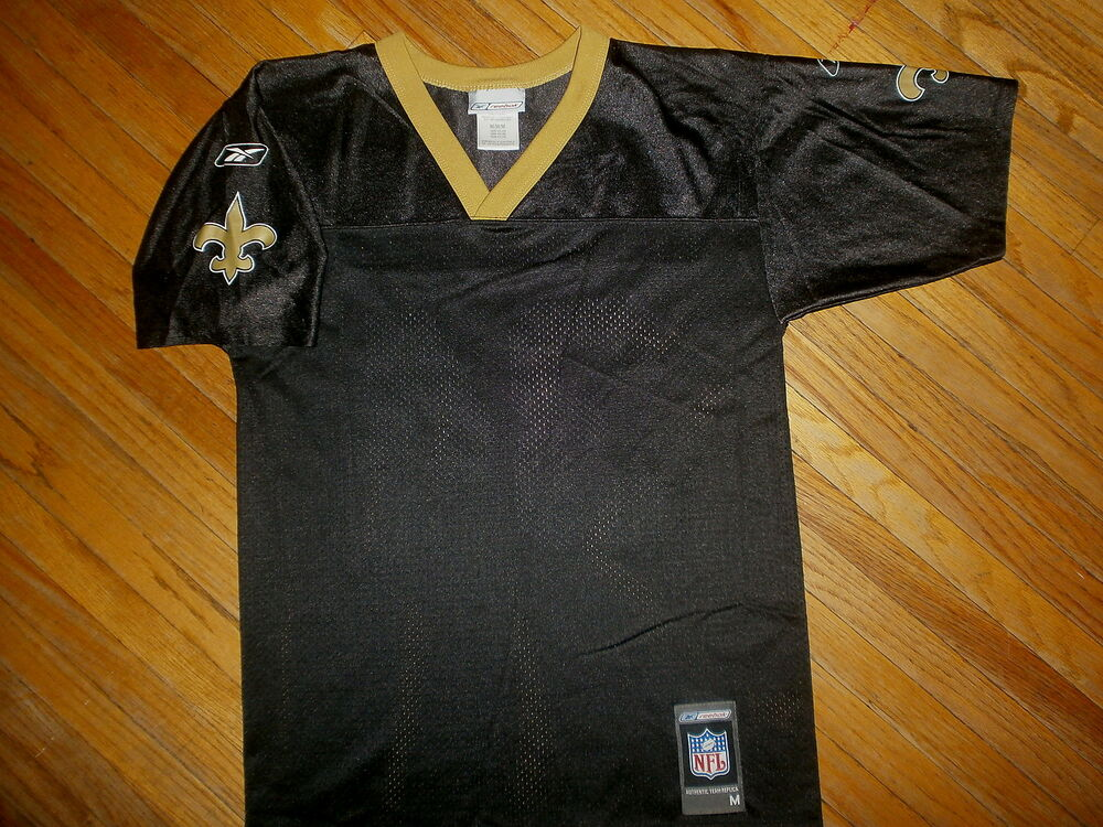fdc3fef271b Details about NEW ORLEANS SAINTS R WILLIAMS 34 JERSEY Ricky Football Blank  Front Reebok YOUTH