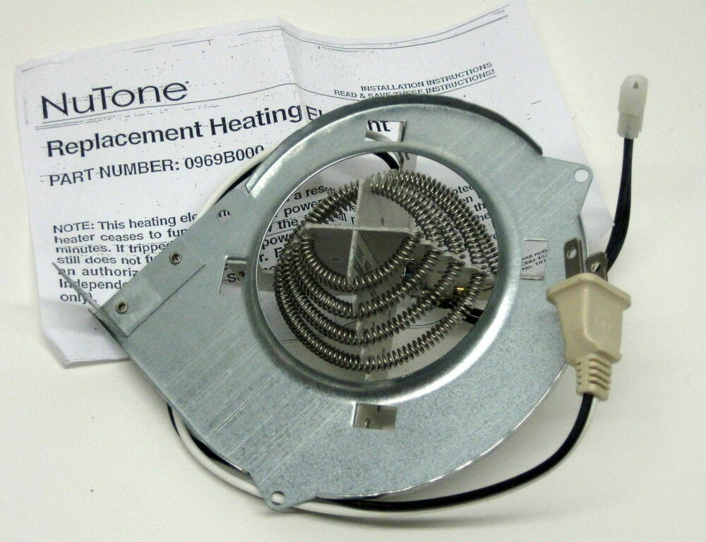 0969b000 genuine nutone broan oem vent bath fan heating for Part f bathroom fan