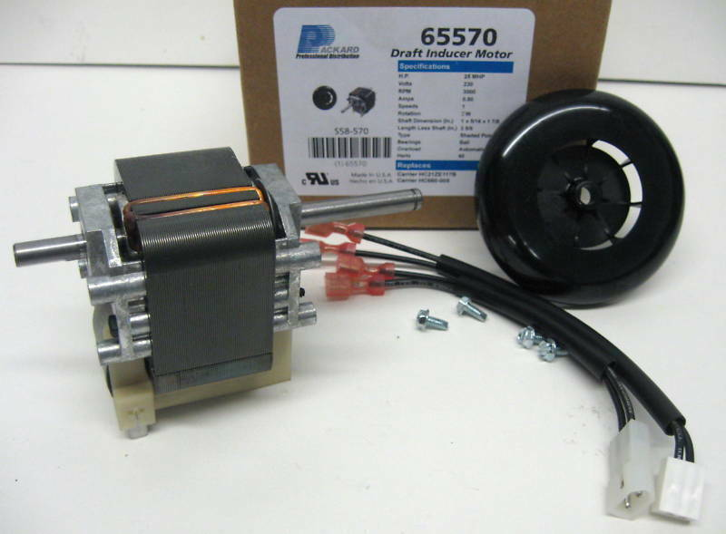 65570 Draft Inducer Furnace Blower Motor For Carrier