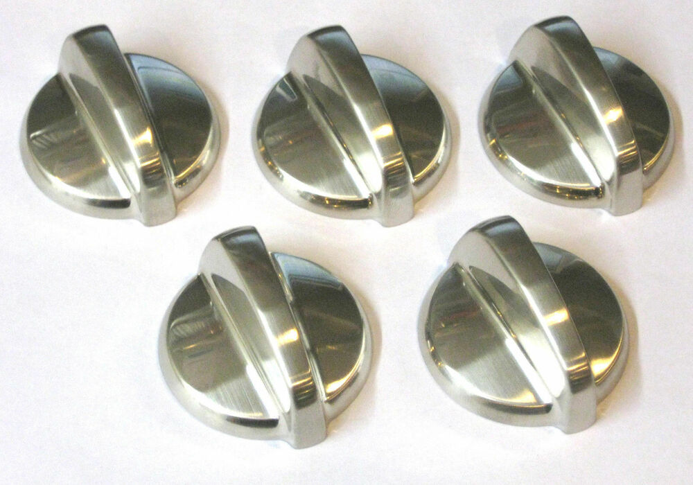 Lot Of 5 Wb03t10284 For Ge Range Cooktop Control Knob