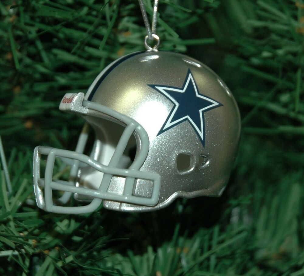 Dallas Cowboys Christmas Ornaments