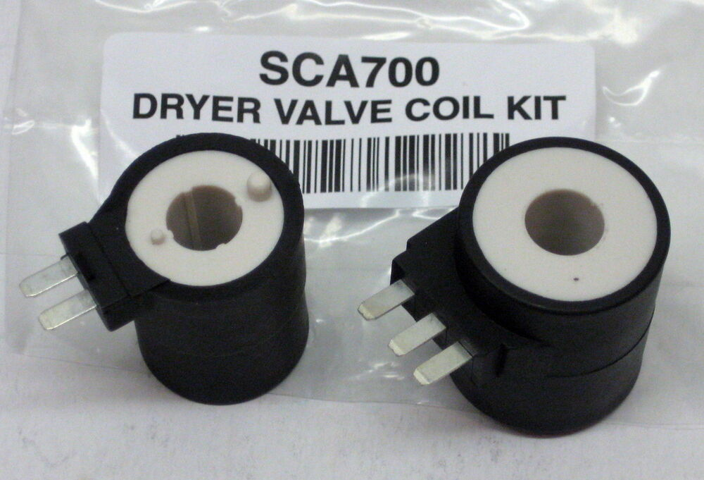 Gas Dryer Valve Coils Kit For Frigidaire 5303931775