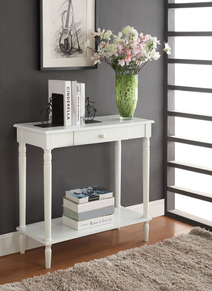 Convenience Concepts French Country Hall Table , White ...
