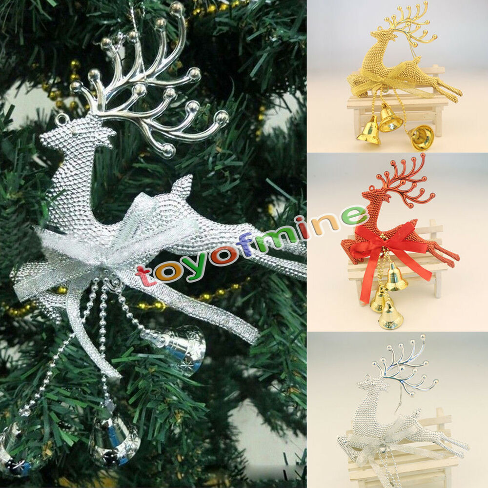 Reindeer Christmas Tree Hanging Ornament Party Xmas Decor