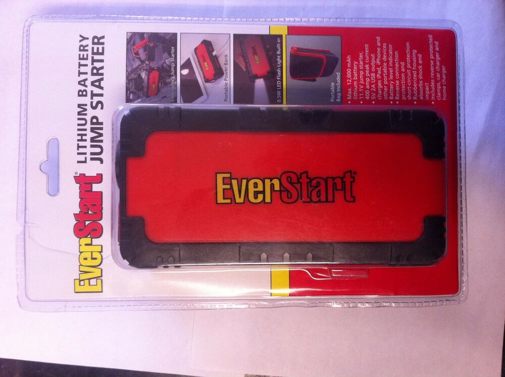 Ebay Lithium Battery Car Jump Starter