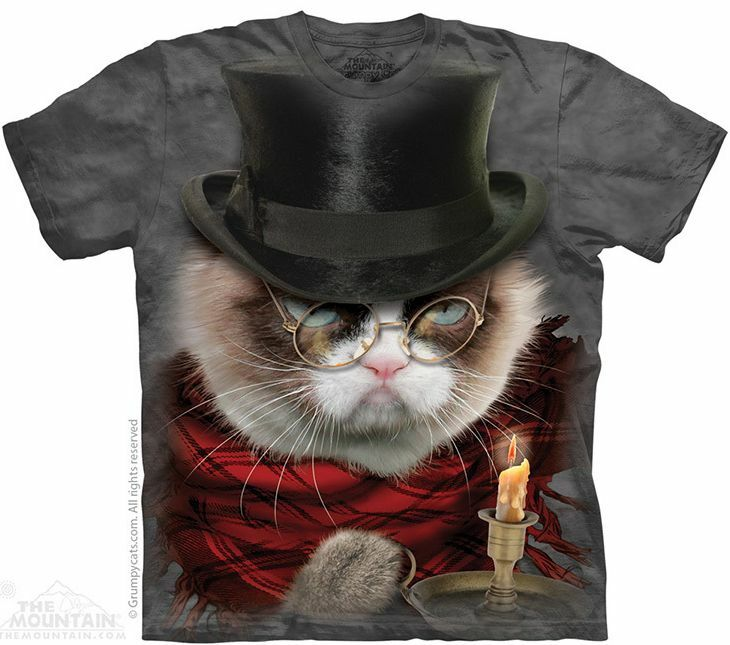 THE MOUNTAIN GRUMPENEZER SCROOGE GRUMPY CAT TOP HAT ...