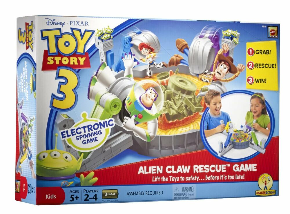 Toy Story Games Woody To The Rescue : Toy story alien claw rescue game electronic spinning ebay
