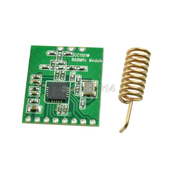 1PCS NEW CC1101 wireless module Long Distance Transmission Antenna 868MHZ