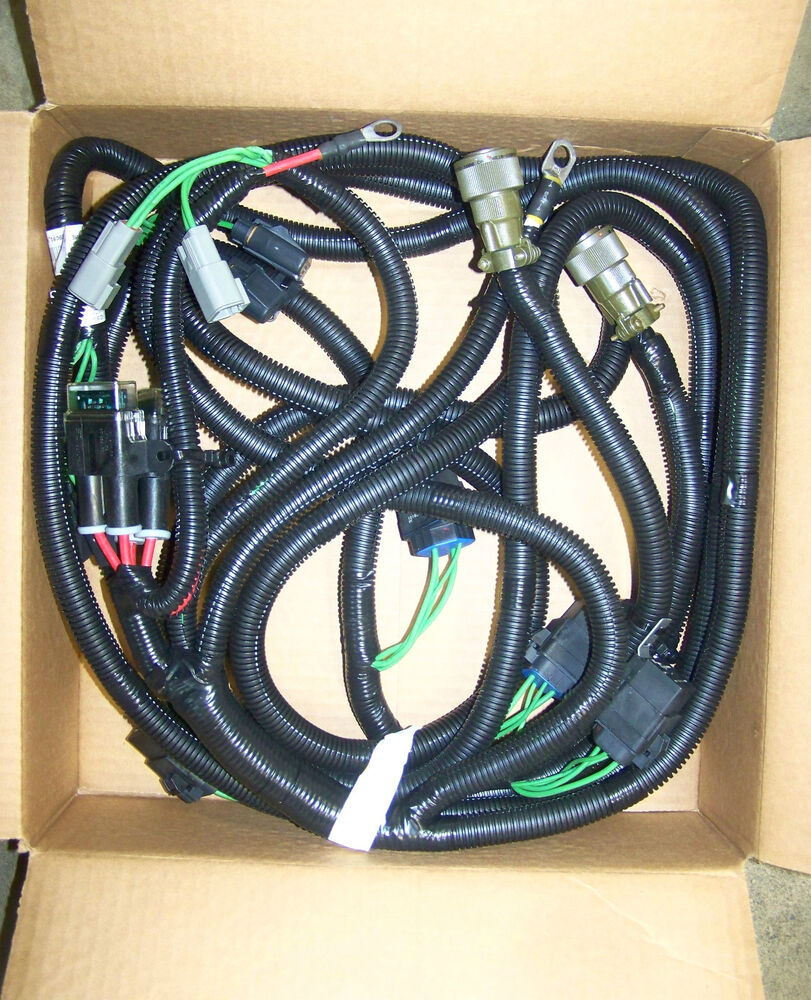 Wiring Harness Branched : Mrap maxxpro dash ihc navistar c new branched