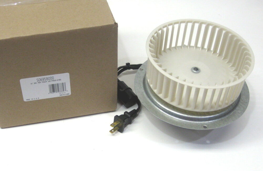 0695b000 Oem Genuine Nutone Vent Bath Fan Motor Wheel For