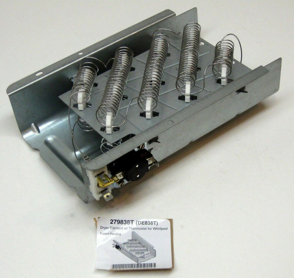 Dryer Heater Heating Element For Whirlpool Kenmore 279838
