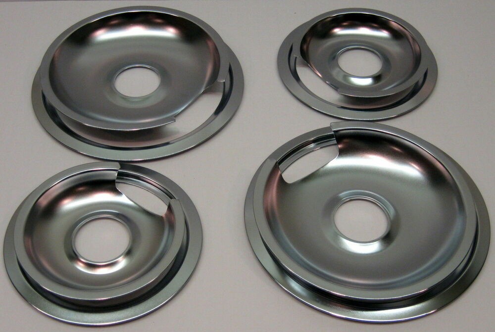 Drip Pans Amp Rings Set For Vintage Ge And Hotpoint Ranges 2