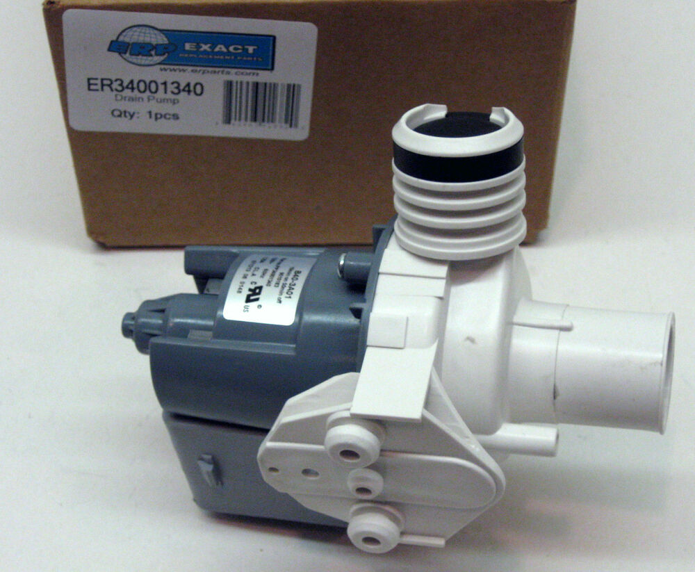 34001340 Washer Drain Pump for Maytag PS2037270 AP4044331 ...