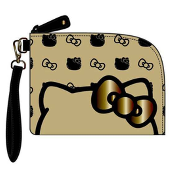 11fa474d6 Details about NWT Hello Kitty Loungefly Wristlet Pouch