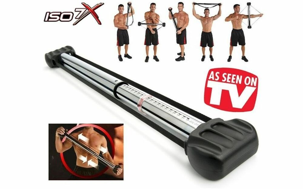 ISO 7X 7 Second Workout Revolution  Equipment  As Seen on TV   New