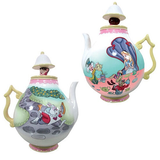 Walt Disney Alice In Wonderland Tea Party Scene Ceramic 35