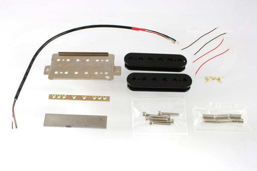 Gibson Guitar Wiring Kit : new neck humbucker pickup kit for gibson fender guitars guitar wiring black ebay ~ Hamham.info Haus und Dekorationen